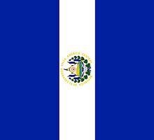 El Salvador Flag by pjwuebker