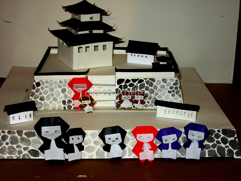 ninja family by TokikoAnderson