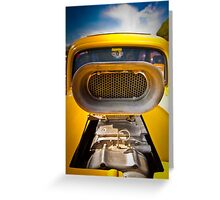 SuperCharged Greeting Card