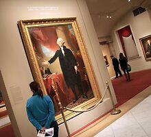George Washington -- The Lansdowne Portrait by Cora Wandel