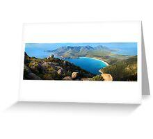 Wineglass Bay, Freycinet National Park, Tasmania Greeting Card