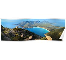 Wineglass Bay, Freycinet National Park, Tasmania Poster
