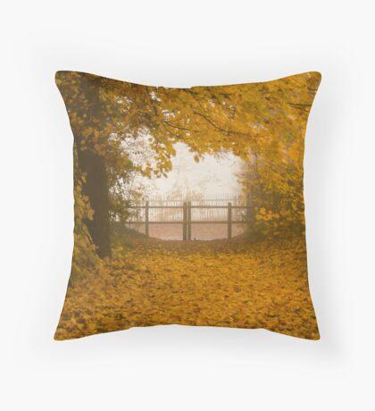 Full Circle,Bury St Edmunds Throw Pillow