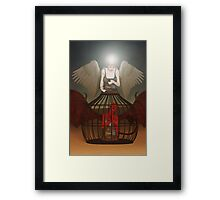 Lock Up The Devil Framed Print
