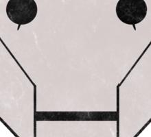 A-SSIM-IL-ATE Vintage Sticker
