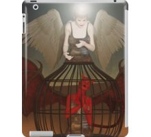 Lock Up The Devil iPad Case/Skin
