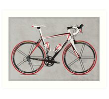 Race Bike Art Print