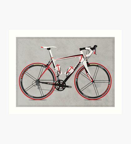 Race Bike Art Print