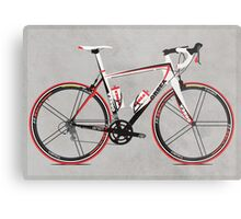 Race Bike Metal Print