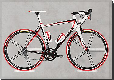 Race Bike by Andy Scullion