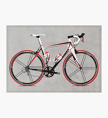 Race Bike Photographic Print