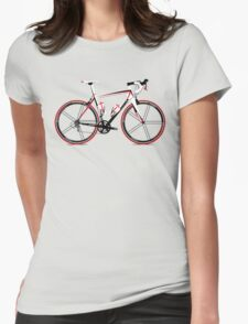 Race Bike Womens Fitted T-Shirt