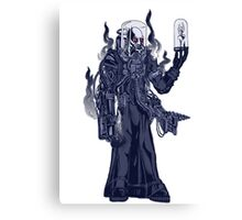Tech-priest Freeze Canvas Print