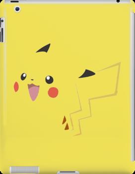 Minimalist Pikachu by AzPatchy