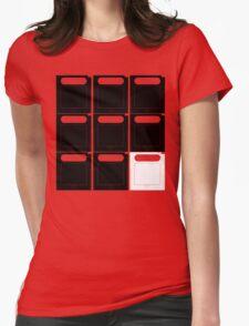 Gamer cartridges! Womens Fitted T-Shirt