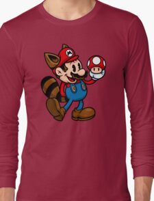 Vintage Plumber Color Long Sleeve T-Shirt