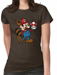 Vintage Plumber Color Womens Fitted T-Shirt