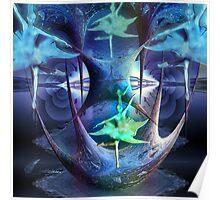 Fractal dancers Poster
