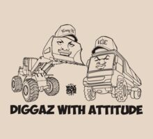 Diggaz With Attitude by waxmonger