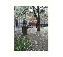 Blooming Grave Art Print