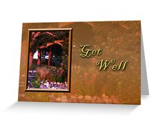 Get Well Woods Greeting Card