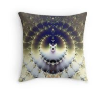 Psychedelic Sun Throw Pillow