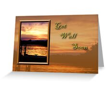 Get Well Soon Pier Greeting Card