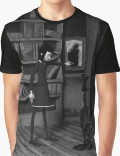 Lenore and The Raven Graphic T-Shirt