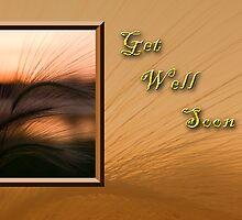 Get Well Soon Grass Sunset by jkartlife