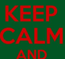 Keep Calm And Jingle Bells Sticker