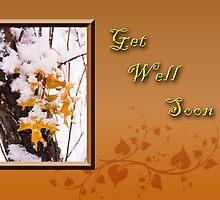 Get Well Soon Leaves by jkartlife