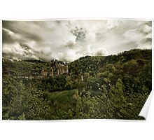 Burg (Castle) Eltz - 3 Poster