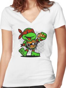 Vintage Raphael Women's Fitted V-Neck T-Shirt