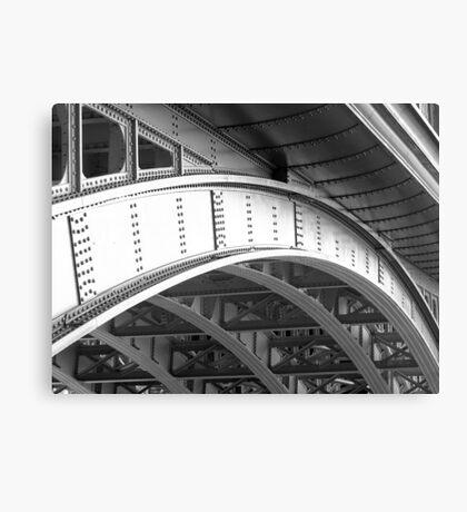 Southwark Bridge B&W Canvas Print