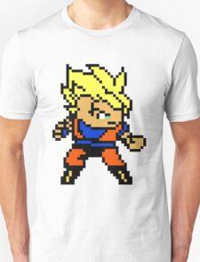 8 Bit Goku Super Saiyan 1 T-Shirt