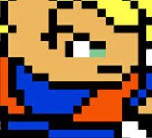 8 Bit Goku Super Saiyan 1 Sticker