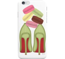 LOUBOUTIN & STACKED MACARONS iPhone Case/Skin