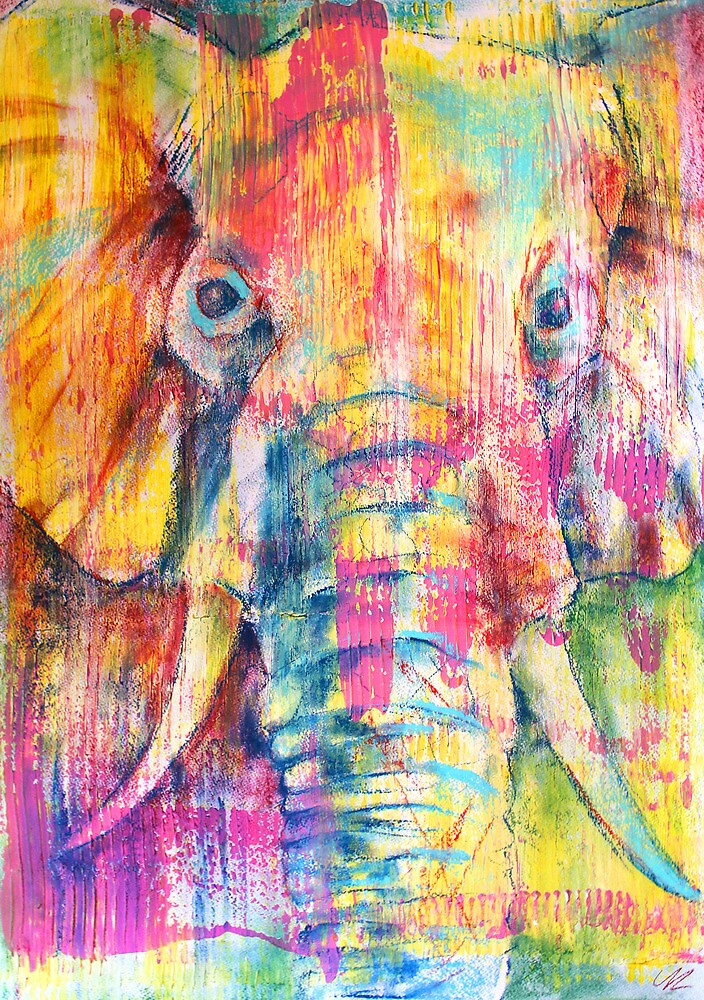 Elephant by Yiannisun