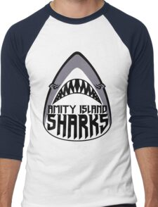 Amity Island Sharks Men's Baseball ¾ T-Shirt