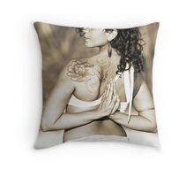 Adriana, Yoga Throw Pillow