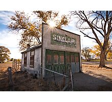 Old Sinclair Station Photographic Print