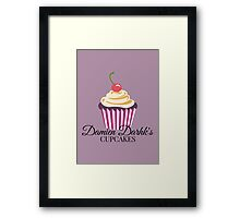 Damien Darhk's Cupcakes Framed Print