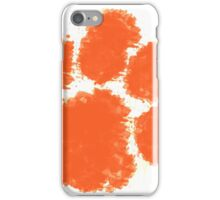 Clemson University Watercolor Design iPhone Case/Skin