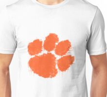 Clemson University Watercolor Design Unisex T-Shirt