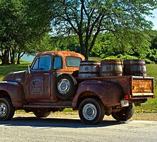 "1954 GMC Jack Daniels Pickup Truck ""Party Time"" by TeeMack"