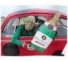 Funny Yoda Poster