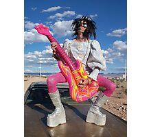 Rock Star Hero Photographic Print