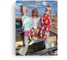 Funny Puppets Canvas Print