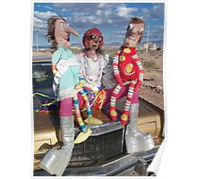Funny Puppets Poster