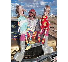Funny Puppets Photographic Print